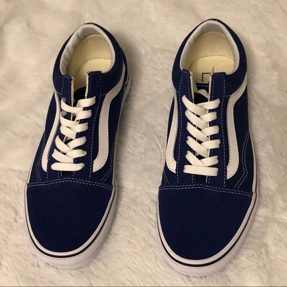 ae22daf752 Royal Blue Old Skool Vans. M 5c6d032cc9bf503b2f978dcb